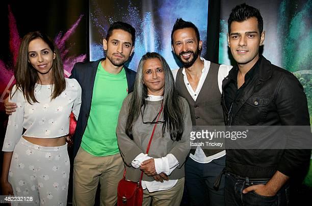 Gia Sandhu, Ali Momen, director Deepa Mehta, Ali Kazmi and Gabe Grey of the film 'BeeBa Boyz' attend the 2015 Toronto International Film Festival...