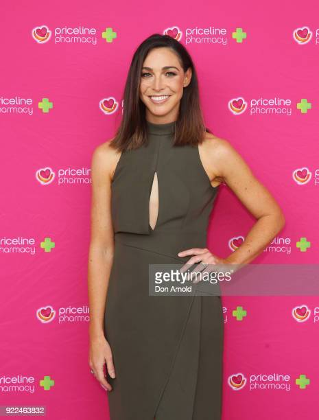 Giaan Rooney arrives ahead of Priceline Pharmacy's 'The Beauty Prescription' live event at Royal Randwick Racecourse on February 22 2018 in Sydney...