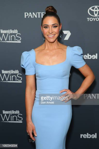 Giaan Rooney attends the Women's Health Women In Sport Awards at Hordern Pavilion on October 17 2018 in Sydney Australia