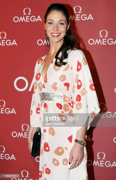 Giaan Rooney during Cindy Crawford for the Opening of the OMEGA Boutique in Sydney at Martin Place in Sydney New South Wales Australia