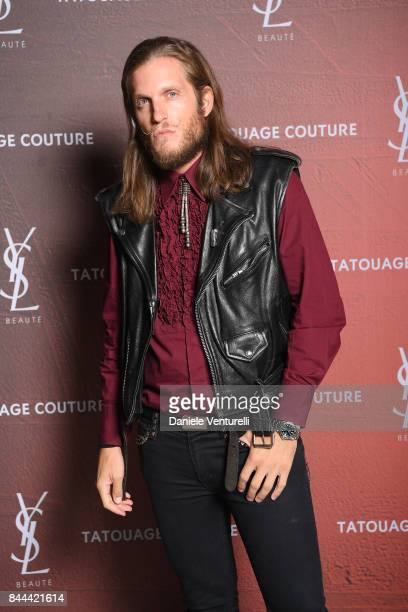Giacomo Alberotanza attends the YSL Beauty Club Party during the 74th Venice Film Festival at Arsenale on September 8 2017 in Venice Italy
