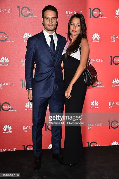 Giacomo Bonaventura attends Vogue China 10th Anniversary at Palazzo Reale on September 28 2015 in Milan Italy