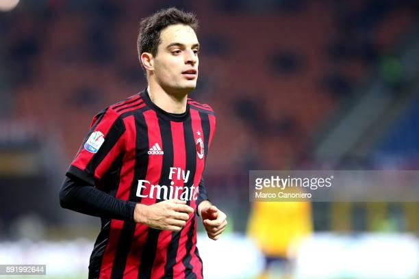 Giacomo Bonaventura of Ac Milan during the Tim Cup football match between AC Milan and Hellas Verona Fc Ac Milan wins 30 over Hellas Verona Fc