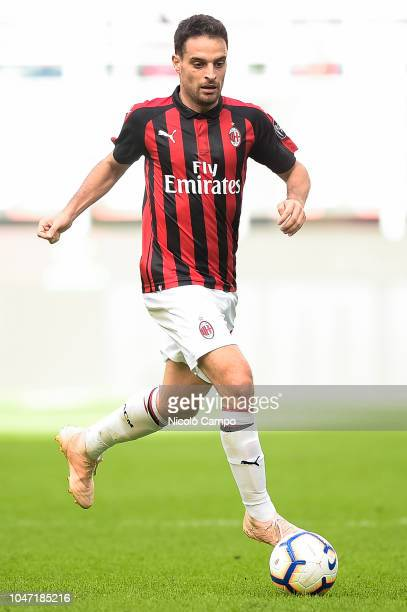 Giacomo Bonaventura of AC Milan in action during the Serie A football match between AC Milan and AC ChievoVerona AC Milan won 31 over AC ChievoVerona