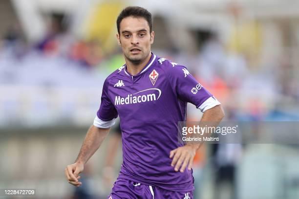Giacomo Bonaventura of ACF Fiorentina in action during a pre-season friendly match between Fiorentina and AC Reggiana at Artemio Franchi on September...