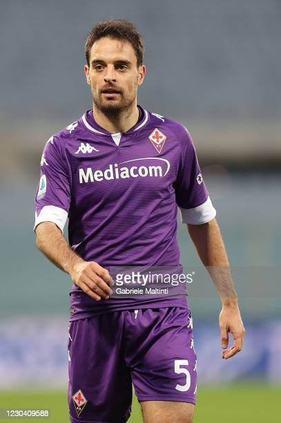 Giacomo Bonaventura of ACF Fiorentina in action during the Serie A match between ACF Fiorentina and Bologna FC at Stadio Artemio Franchi on January...