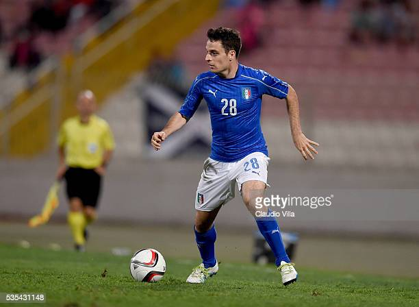 Giacomo Bonaventura of Italy in action during the international friendly between Italy and Scotland on May 29 2016 in Malta Malta