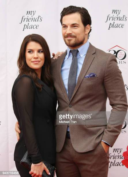 Giacomo Gianniotti arrives to My Friend's Place 30th Anniversary Gala held at Hollywood Palladium on April 7 2018 in Los Angeles California