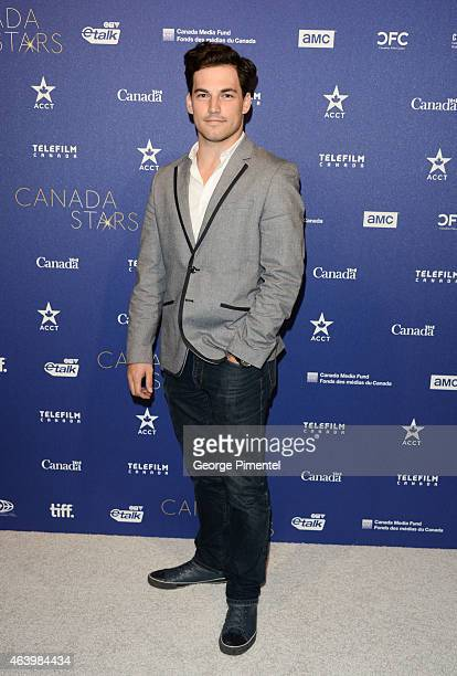 Giacomo Gianniotti attend the Telefilm Canada Oscar Week Gala held at The Four Seasons Hotel on February 19 2015 in Beverly Hills California