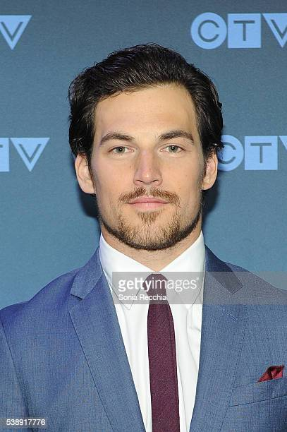 Giacomo Gianniotti attends CTV Upfronts 2016 at Sony Centre for the Performing Arts on June 8 2016 in Toronto Canada