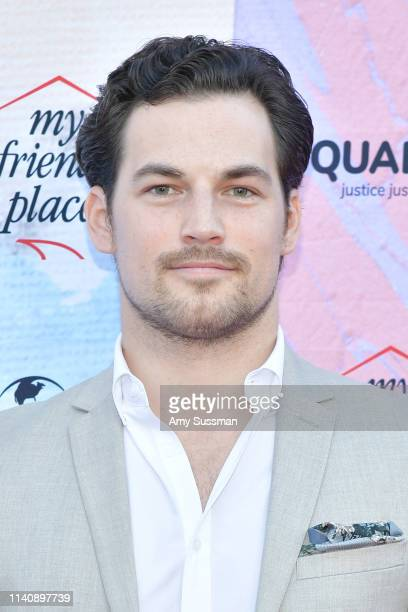Giacomo Gianniotti attends Ending Youth Homelessness A Benefit For My Friend's Place Gala at Hollywood Palladium on April 06 2019 in Los Angeles...