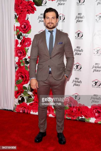 Giacomo Gianniotti attends My Friend's Place 30th Anniversary Gala at Hollywood Palladium on April 7 2018 in Los Angeles California