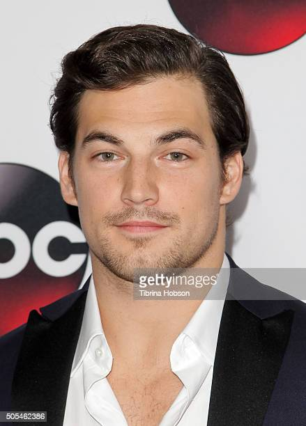 Giacomo Gianniotti attends the Disney/ABC 2016 Winter TCA Tour at Langham Hotel on January 9 2016 in Pasadena California