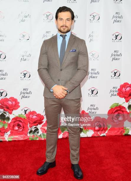 Giacomo Gianniotti attends the My Friend's Place 30th Anniversary Gala at Hollywood Palladium on April 7 2018 in Los Angeles California
