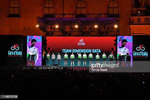 Giacomo Nizzolo of Italy and Team Dimension Data / Scott Davies of United Kingdom and Team Dimension Data / Enrico Gasparotto of Italy and Team...