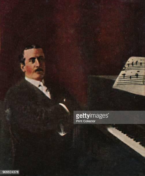 'Giacomo Puccini 1858-1924', 1934. Giacomo Antonio Domenico Michele Secondo Maria Puccini , Italian opera composer. From Die Großen der...