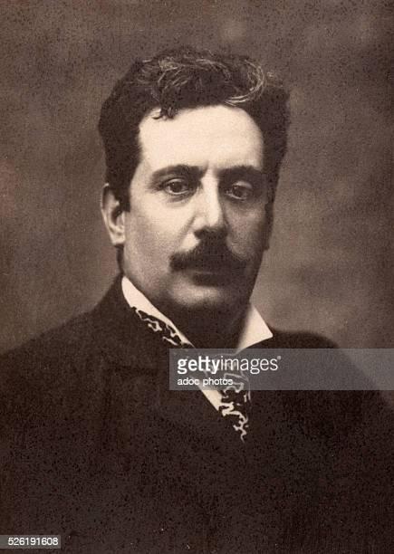 Giacomo Puccini Italian composer born in Lucca Ca 1890