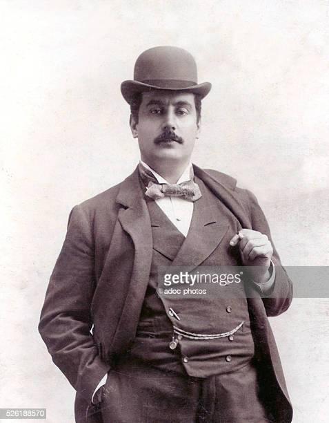 Giacomo Puccini Italian composer born in Lucca Ca 1905