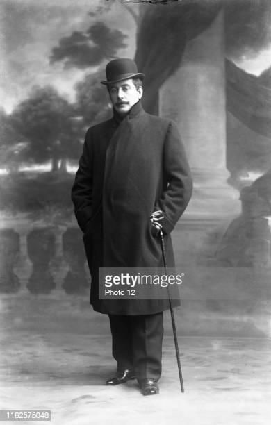 Giacomo Puccini Italian composer c1905 Photo Taponier