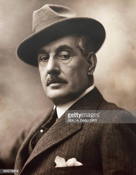 Giacomo Puccini , Italian composer, in 1924. Torre Del Lago Puccini, Museo Villa Puccini
