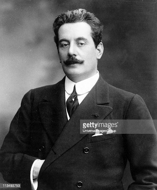 Giacomo Puccini Italian composer of operas including La boheme Tosca Madama Butterfly and Turandot