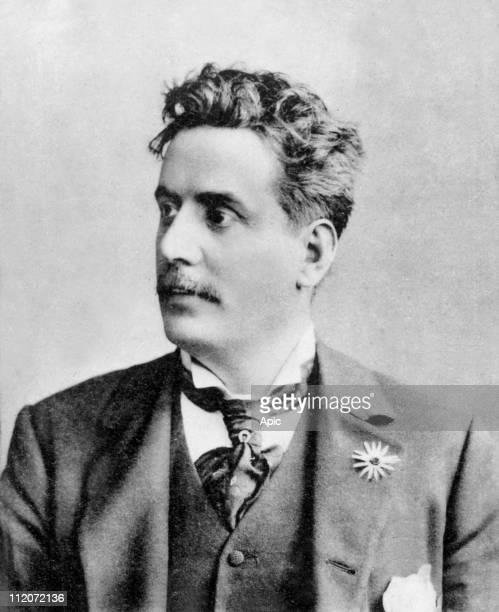 Giacomo Puccini italian composer.