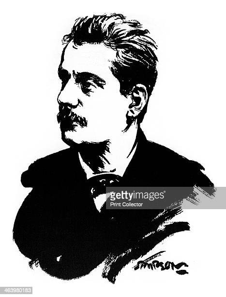 Giacomo Puccini Italian composer Puccini was one of the great operatic composers A print from The Connoisseur'