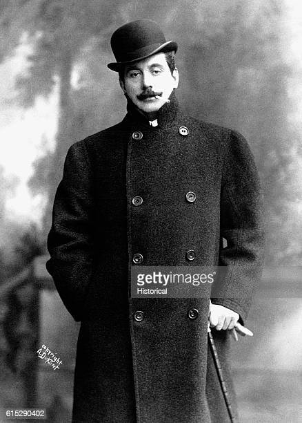 Giacomo Puccini Italian opera composer who wrote such classics as Tosca Madame Butterfly and La Boheme