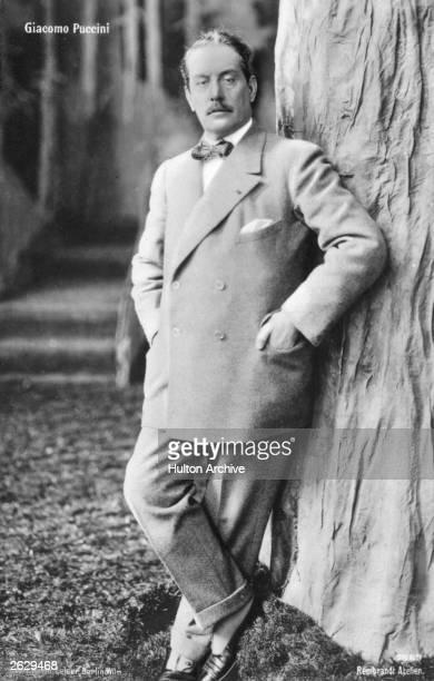 Giacomo Puccini Italian operatic composer.