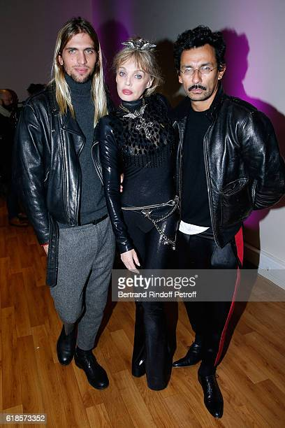 Giacomo Tortarolo Arielle Dombasle and Stylist Haider Ackermann attend Arielle Dombasle performs for the release of the Album La Riviere Atlantique...