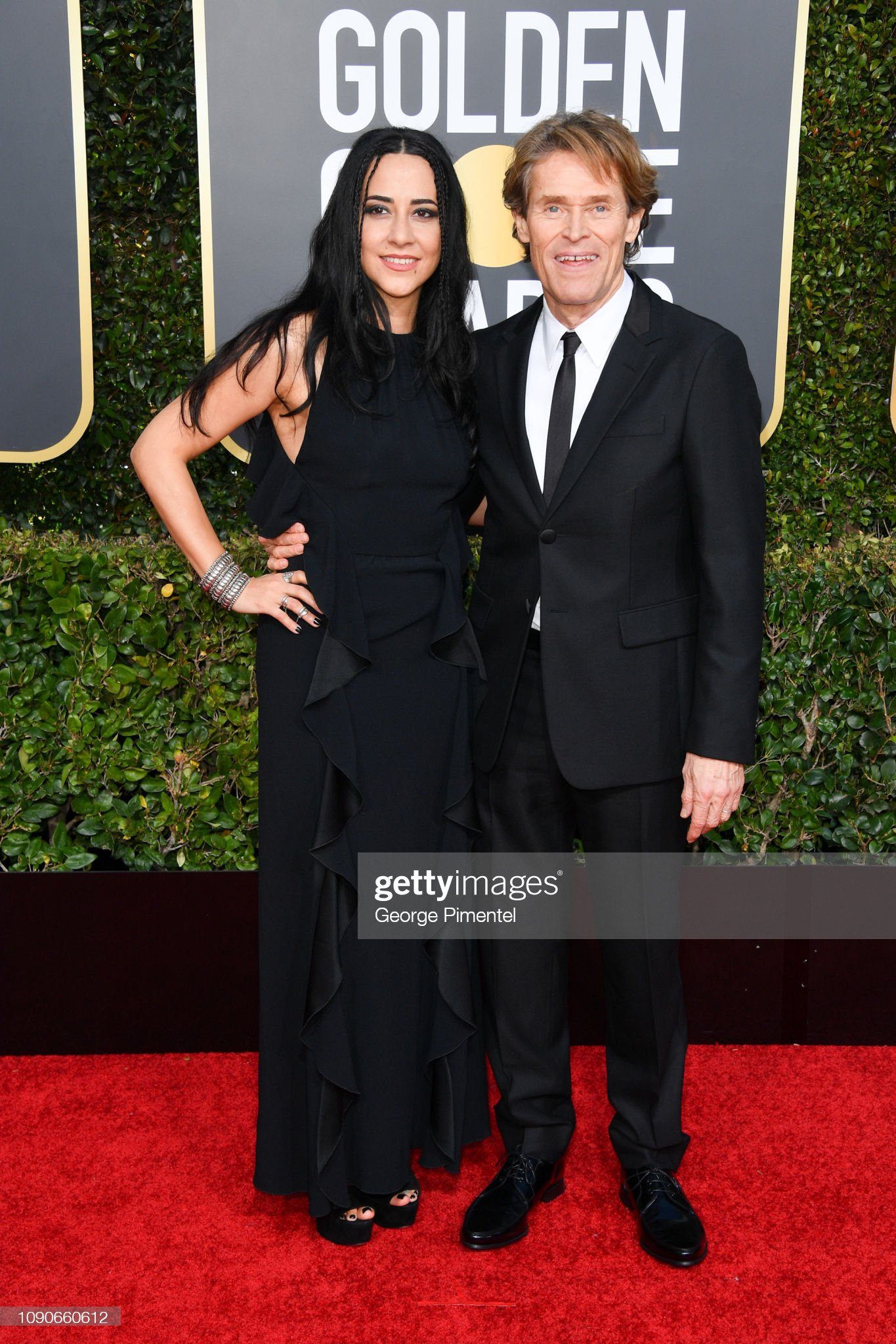 ¿Cuánto mide Willem Dafoe? - Altura - Real height Giada-colagrande-and-willem-dafoe-attend-the-76th-annual-golden-globe-picture-id1090660612?s=2048x2048
