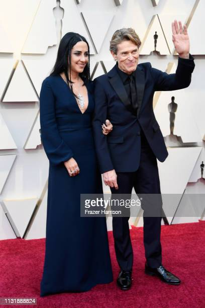Giada Colagrande and Willem Dafoe attend the 91st Annual Academy Awards at Hollywood and Highland on February 24 2019 in Hollywood California