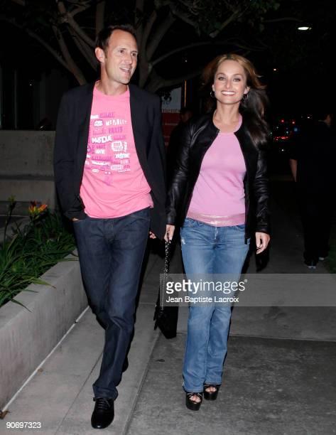 Giada de Laurentiis and Todd Thompson sighting in Santa Monica on September 12, 2009 in Los Angeles, California.