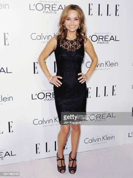 Giada De Laurentiis arrives at the 19th Annual ELLE Women In Hollywood Celebration at the Four Seasons Hotel Los Angeles at Beverly Hills on October...
