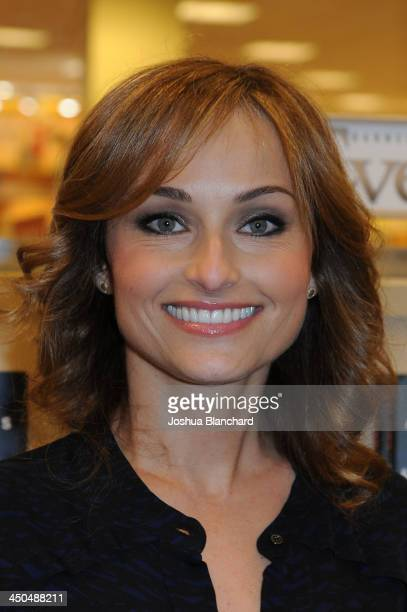 Giada De Laurentiis arrives at the Barnes Noble bookstore at The Grove for 'Giada's Feel Good Food' on November 18 2013 in Los Angeles California