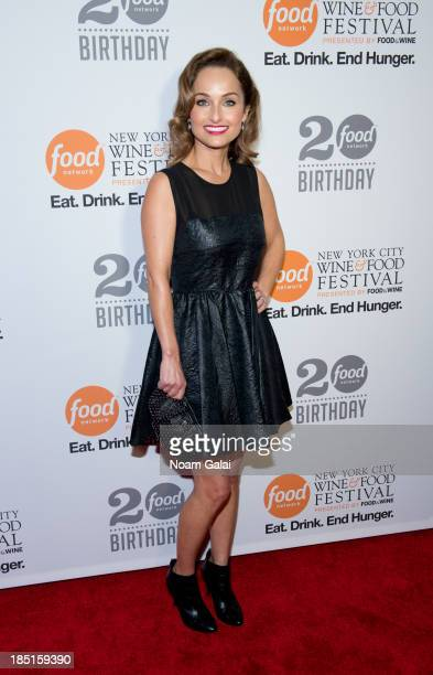 Giada De Laurentiis attends Food Network's 20th birthday celebration at Pier 92 on October 17, 2013 in New York City.