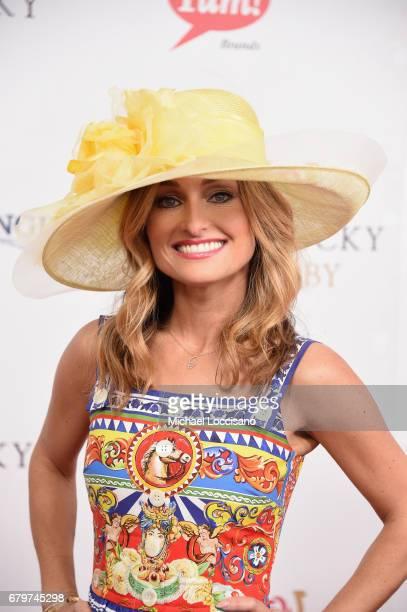 Giada De Laurentiis attends the 143rd Kentucky Derby at Churchill Downs on May 6, 2017 in Louisville, Kentucky.