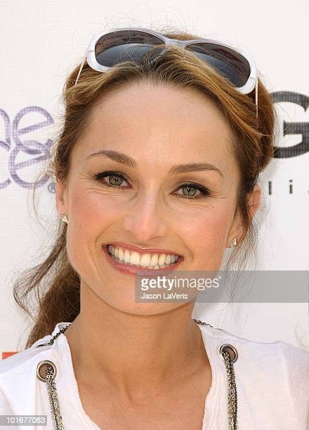 Giada De Laurentiis attends the 4th annual Kidstock Music Arts Festival at Greystone Mansion on June 6 2010 in Beverly Hills California