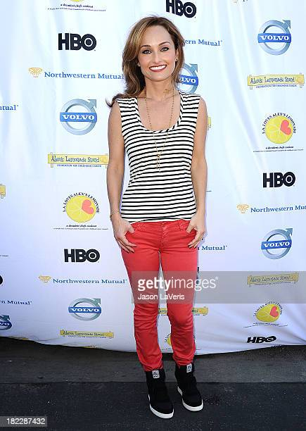 Giada De Laurentiis attends the 4th annual LA Loves Alex's Lemonade event at Culver Studios on September 28 2013 in Culver City California