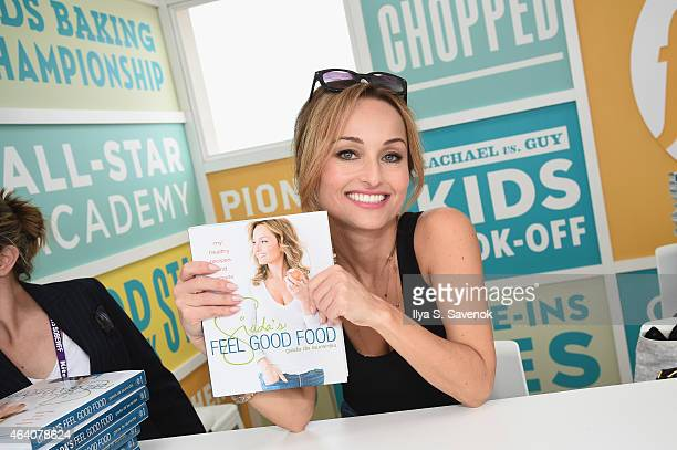 Giada De Laurentiis attends the KitchenAid Culinary Demonstrations during the 2015 Food Network Cooking Channel South Beach Wine Food Festival...