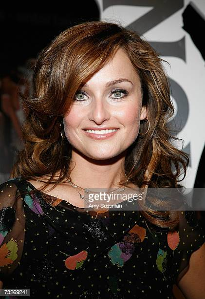 Giada De Laurentiis attends the Peroni Reception during Mercedes Benz Fashion Week in Bryant Park February 8 2007 in New York City