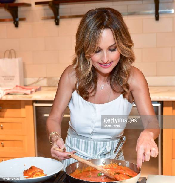 Giada De Laurentiis attends Williams Sonoma Launches Product Collaboration with Giada De Laurentiis at Williams Sonoma Columbus Circle on July 19...