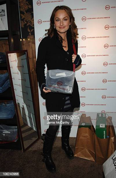 Giada De Laurentiis during 2007 Park City Marquee Lounge Day 3 at Harry O's in Park City Utah United States