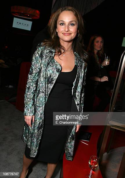Giada De Laurentiis during Focus Features Golden Globes After Party at Beverly Hilton in Los Angeles California United States