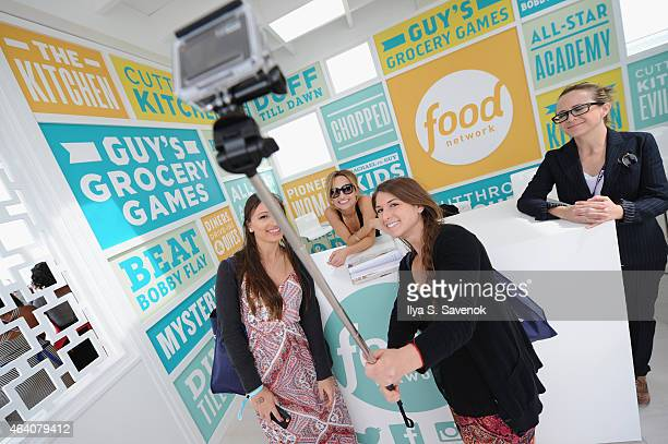 Giada De Laurentiis poses at the KitchenAid Culinary Demonstrations during the 2015 Food Network Cooking Channel South Beach Wine Food Festival...