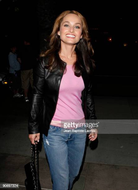 Giada de Laurentiis sighting in Santa Monica on September 12 2009 in Los Angeles California