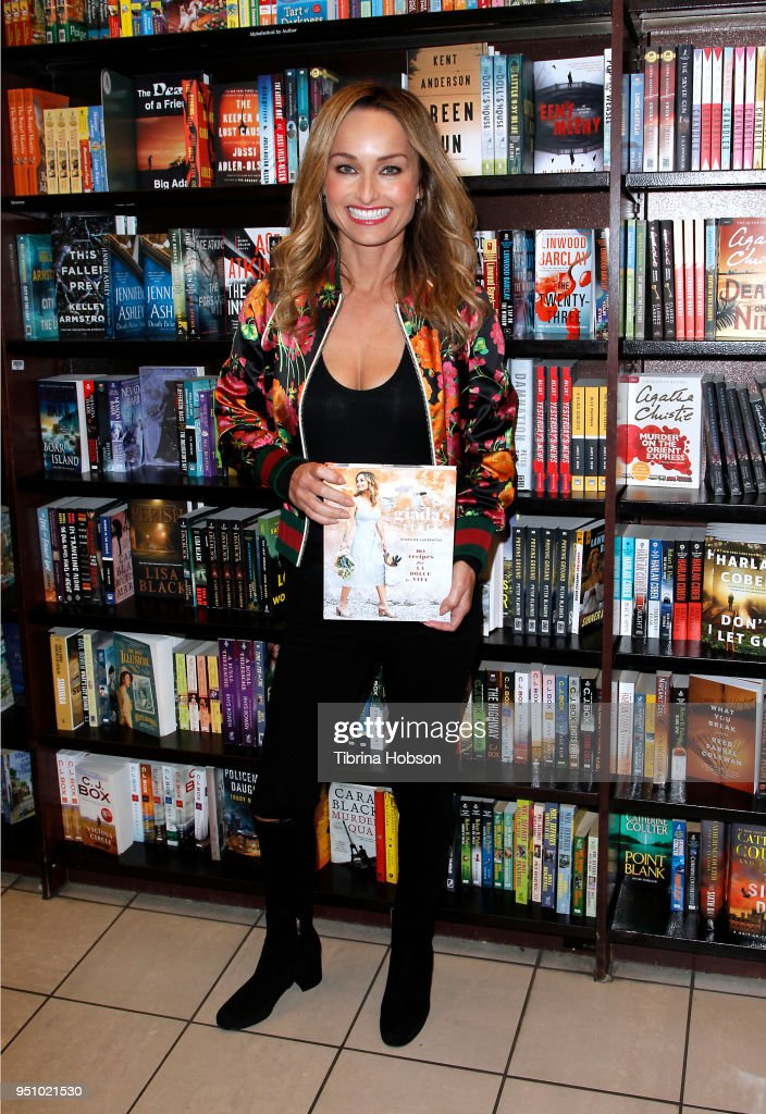 "Giada De Laurentiis Signs Copies Of Her New Book ""Giada's Italy"""