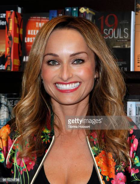 Giada De Laurentiis signs copies of her new book 'Giada's Italy' at Barnes Noble at The Grove on April 24 2018 in Los Angeles California
