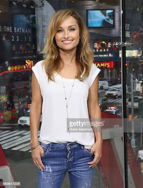 Giada De Laurentiis visits 'Extra' on August 11 2015 in New York City