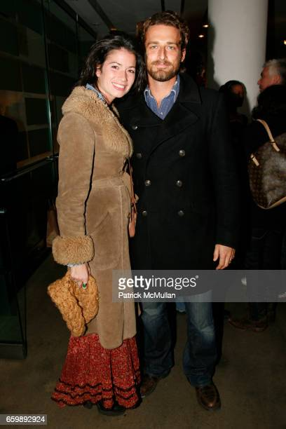 Giada Lubomirski and Alexi Lubomirski attend 'BARELY PRIVATE' by SANTE D'ORAZIO Photography Exhibit and Book Party at Milk Gallery on December 8 2009...
